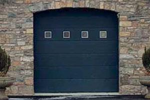 Alutech sectional garage doors 01